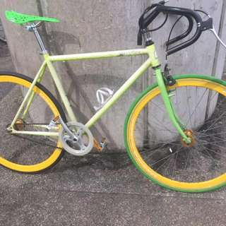 Used Harris fixie (flop-flop) with new parts