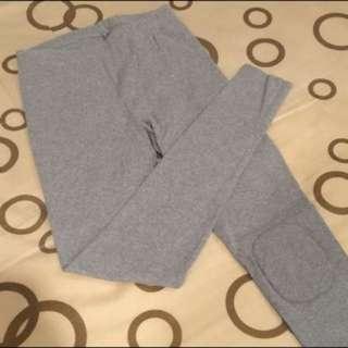 Lativ 淺灰色 內搭褲