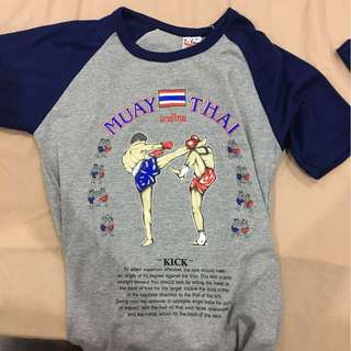 Selling MUAY THAI and RED BULL T SHIRT