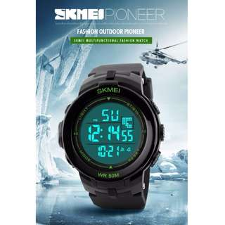 SKMei Men's Sport Watch Military Outdoor Watch Digital Color Changing GShock Alternative Free Delivery In All NCR Area