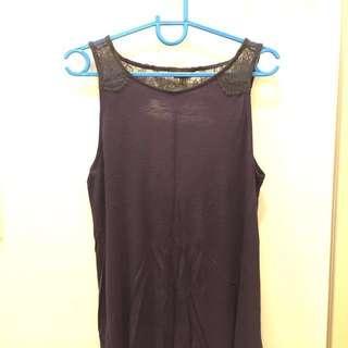 SALE!!! Warehouse blue sleeveless top