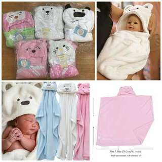 Hooded Baby Blanket CLEARANCE SALE!!