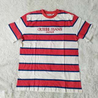 Guess Japan x ASAP Rocky Shirt Striped Shirt / Crew Neck