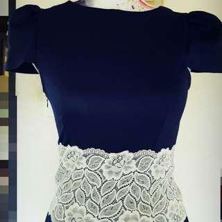 VINTAGE LOOK DRESS