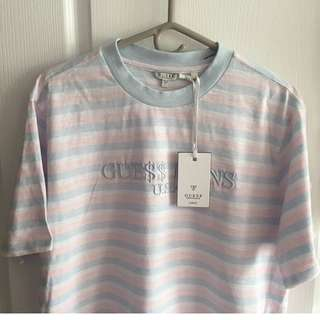 Guess Originals x ASAP Rocky Cotton Candy Short Sleeve Crew Neck / Shirt