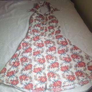 Haltered Neckline dress