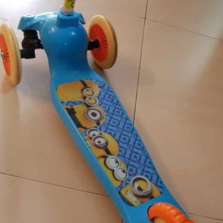 Minion Scooter