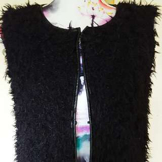 JEANS WEST FLUFFY VEST