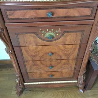 Da Vinci chest of drawers Victorian style