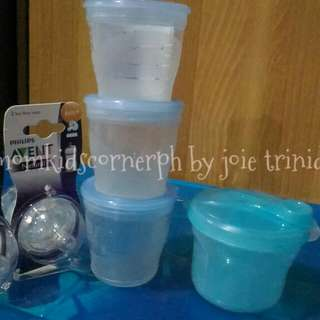 preloved breastmilk storage and brand new avent natural nipple #4