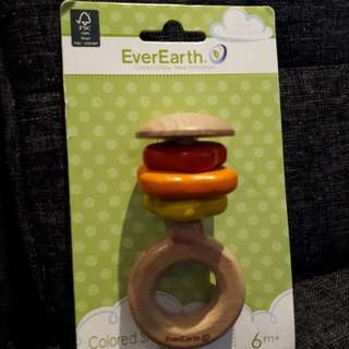 EverEarth wooden rattle