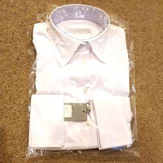Rhodes & Beckett White long sleeve shirt