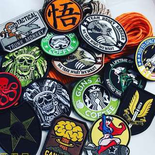 Morale badge Velcro badge