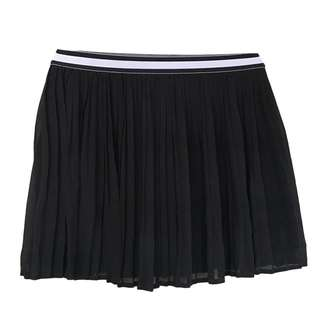 ZALORA - Black Pleated Skater Skirt