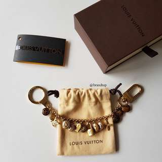 Authentic Louis Vuitton Pastilles Chain Charm LV