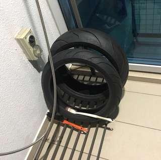 New Shinko tire radials (pair - front & back)