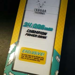 Jaguar Power bank 24000 mah neg