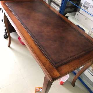 Ralph Lauren Mahogany Wood Dining Table