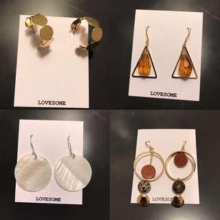 Lovesome earrings