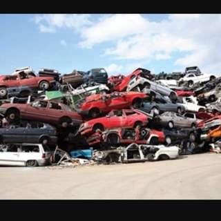 Honda , Toyota, Bmw , Mec scarp export sell local