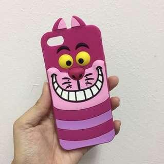 Pink Cat iPhone 5/5s Casing