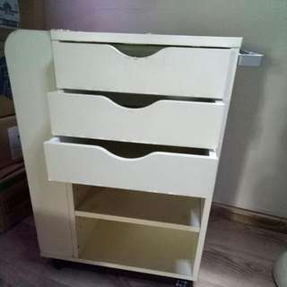 Ikea Multifunctional All-round Purpose Revolving Cabinet Trolley