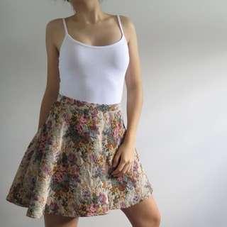 Tapestry Circle Skirt