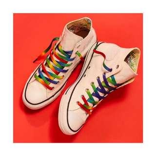 🎉現貨 Converse Pride Hi All-Star LGBTQ 高筒帆布鞋 公益 婚姻平權 彩虹 美國直送