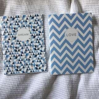 Note pad books