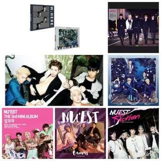 NU'EST Albums