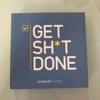 Get shit done quotes book