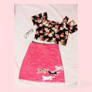 ⚜️ A-line Skirt