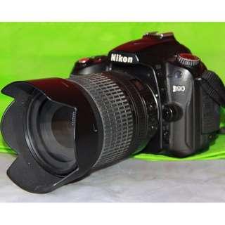 Nikon D90 FULL SET with AFS 18-105mm ED G lens