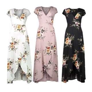💌 Boho Floral Summer Dress 💌