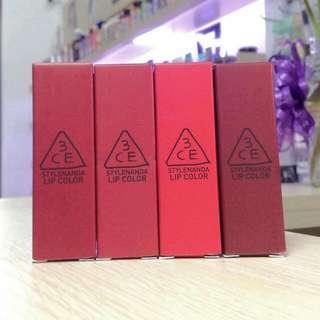 3CE Lipstick Red Recipe