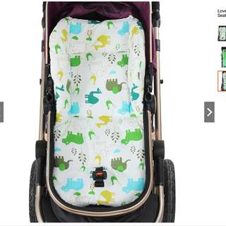 cartoon Elephant Baby Kids Seat Toddler Pushchair Stroller Warm Cushion Pad