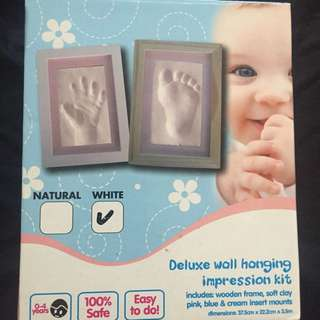 Baby hand and feet mould