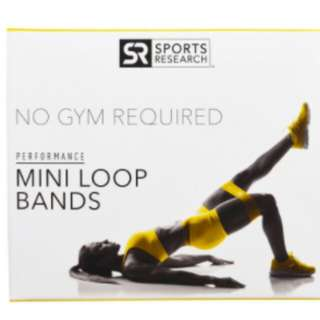 代購 阻力橡筋帶 迷你環帶 4個環帶 Sport Research Mini Loop Bands