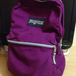 Jansport Violet Backpack