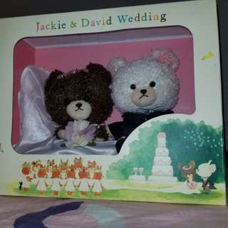 The Bear School 結婚公仔(現貨)