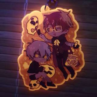 """Mystic Messenger: 707 & Unknown 2"""" charms"""