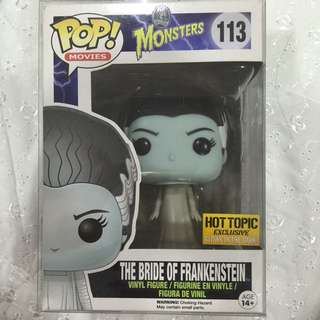 Funko Pop Bride Of Frankenstein exclusive