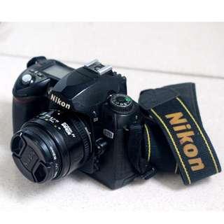 nikon d70 機身+鏡頭 平價新手練拍價
