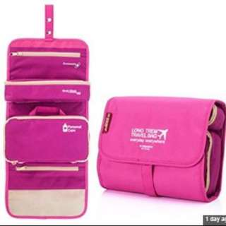 3 in 1 detachable Travel Pouch organizer Cosmetic Bag