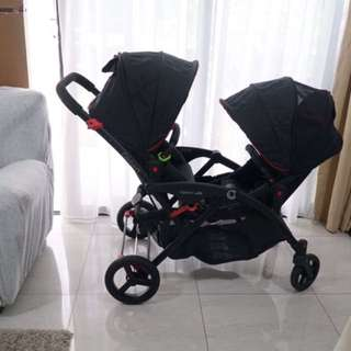 Occasionally Used Contours Randem Stroller