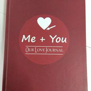 Me and You- a couple journal