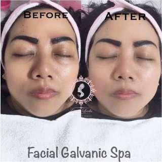 Facial galvanic spa