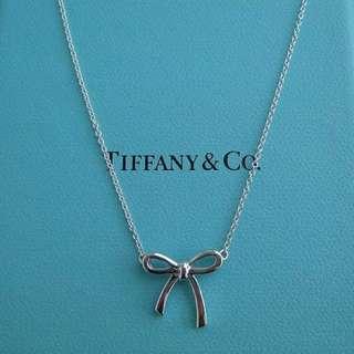 [購於美國官網] Tiffany 蒂芙尼 經典 蝴蝶結 925銀 項鍊