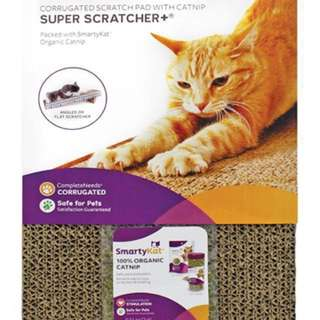 [REPRICED] SmartyKat Super Scratcher with Free Catnip for Cats 🐱