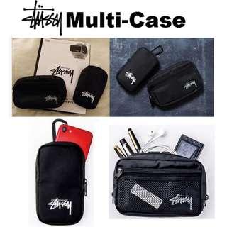 $165 有2個 Stussy Pouch case  Phone Case 銀包 萬用收納袋 著名日本雜誌非買品